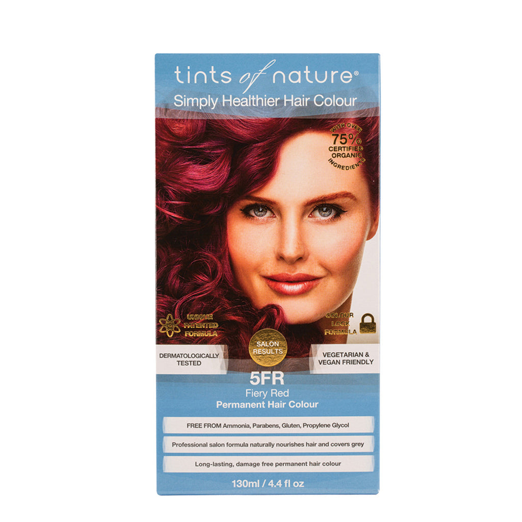 Tints of Nature Permanent Hair Colour Fiery Red 5FR