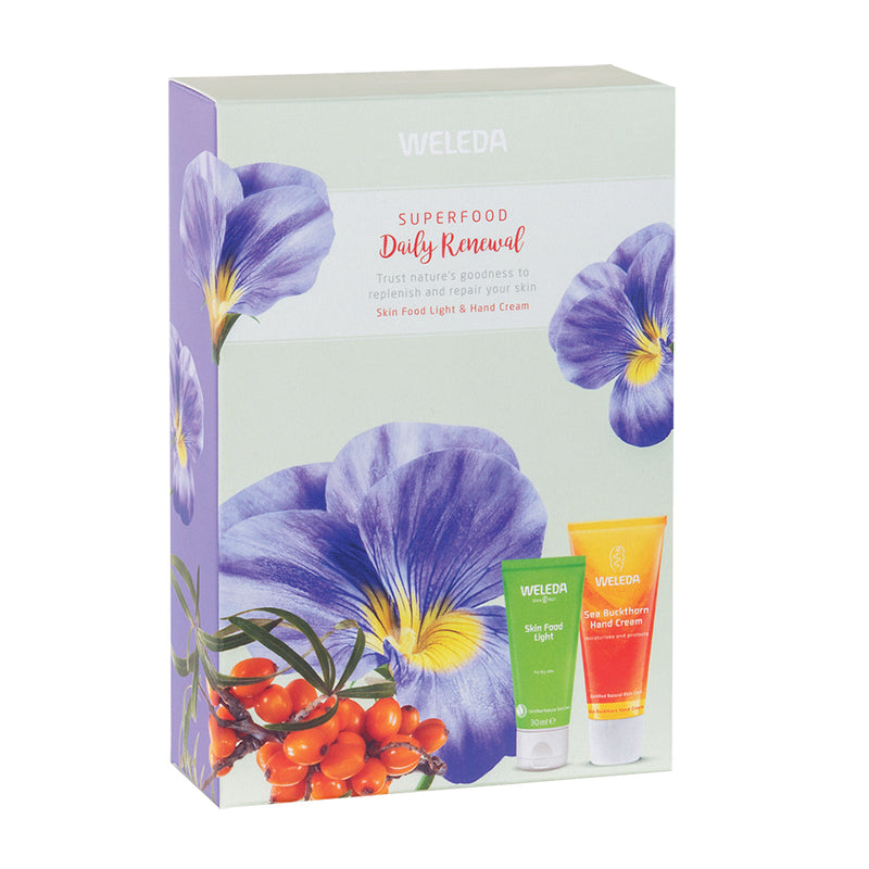 Weleda Superfood Daily Renewal Pack