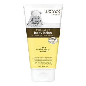 Wotnot 100% Natural Baby Lotion (3-in-1) 135ml