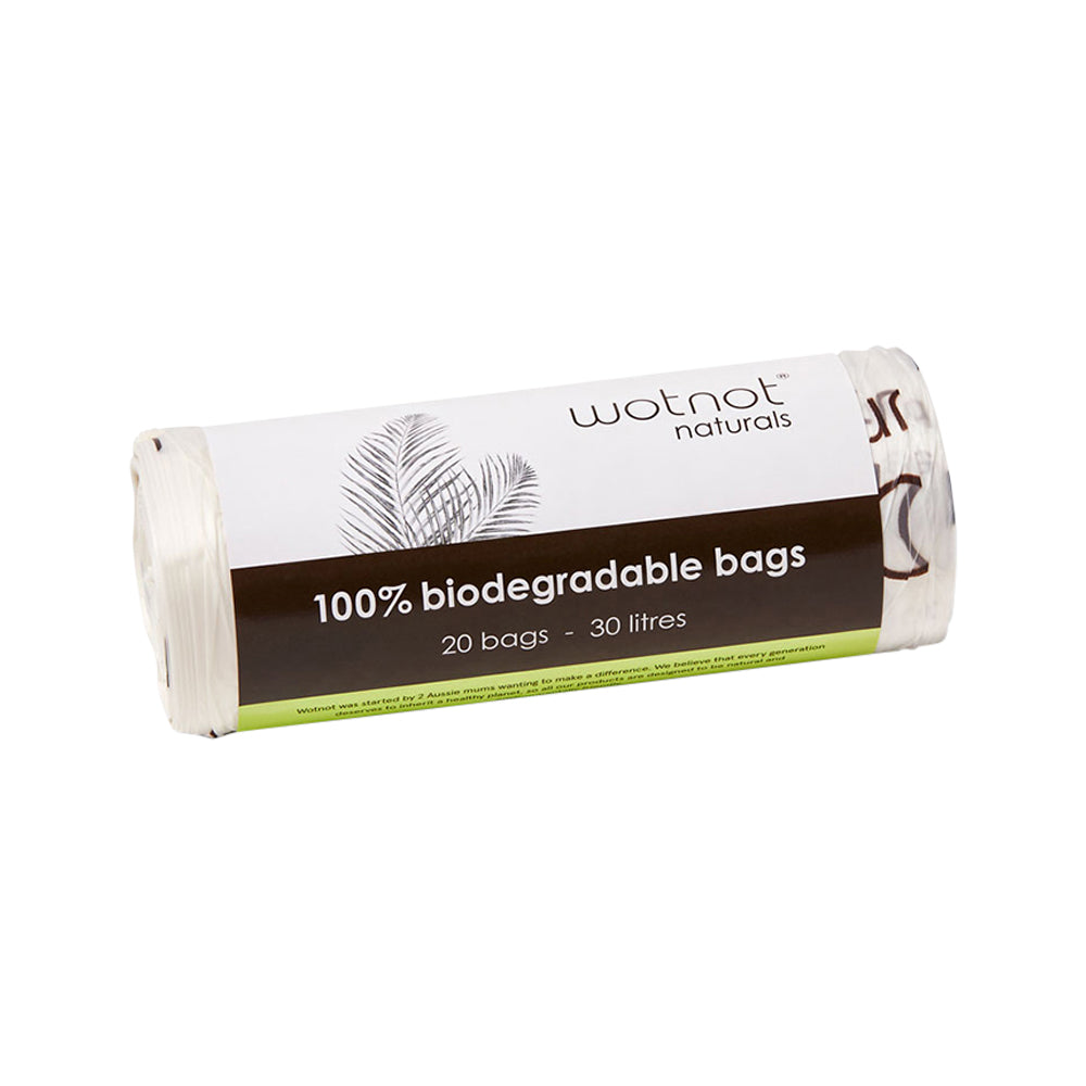 Wotnot Biodegradable Bag Bin Liners 30L x 20 Pack