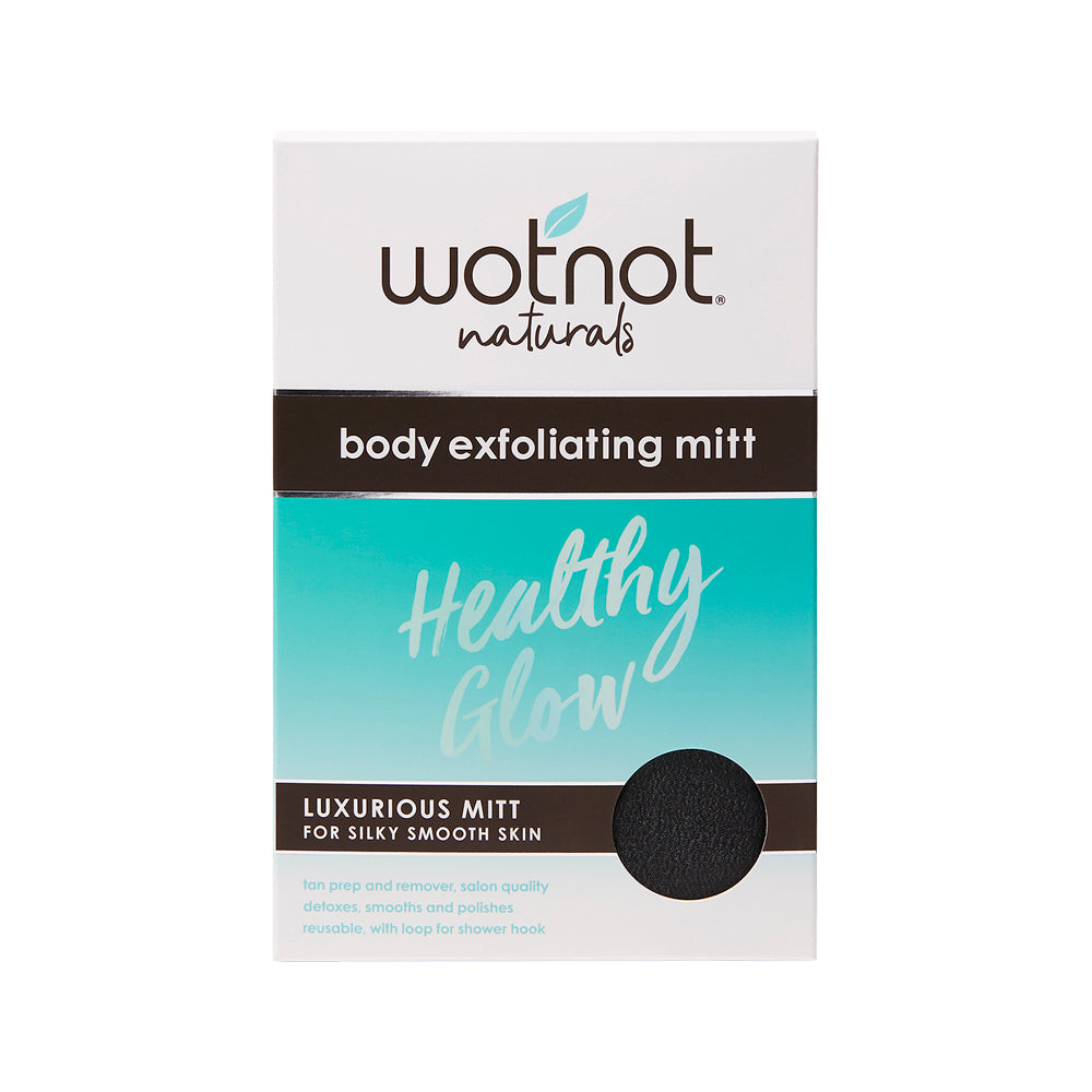 Wotnot Healthy Glow Body Exfoliating Mitt (for silky smooth skin)
