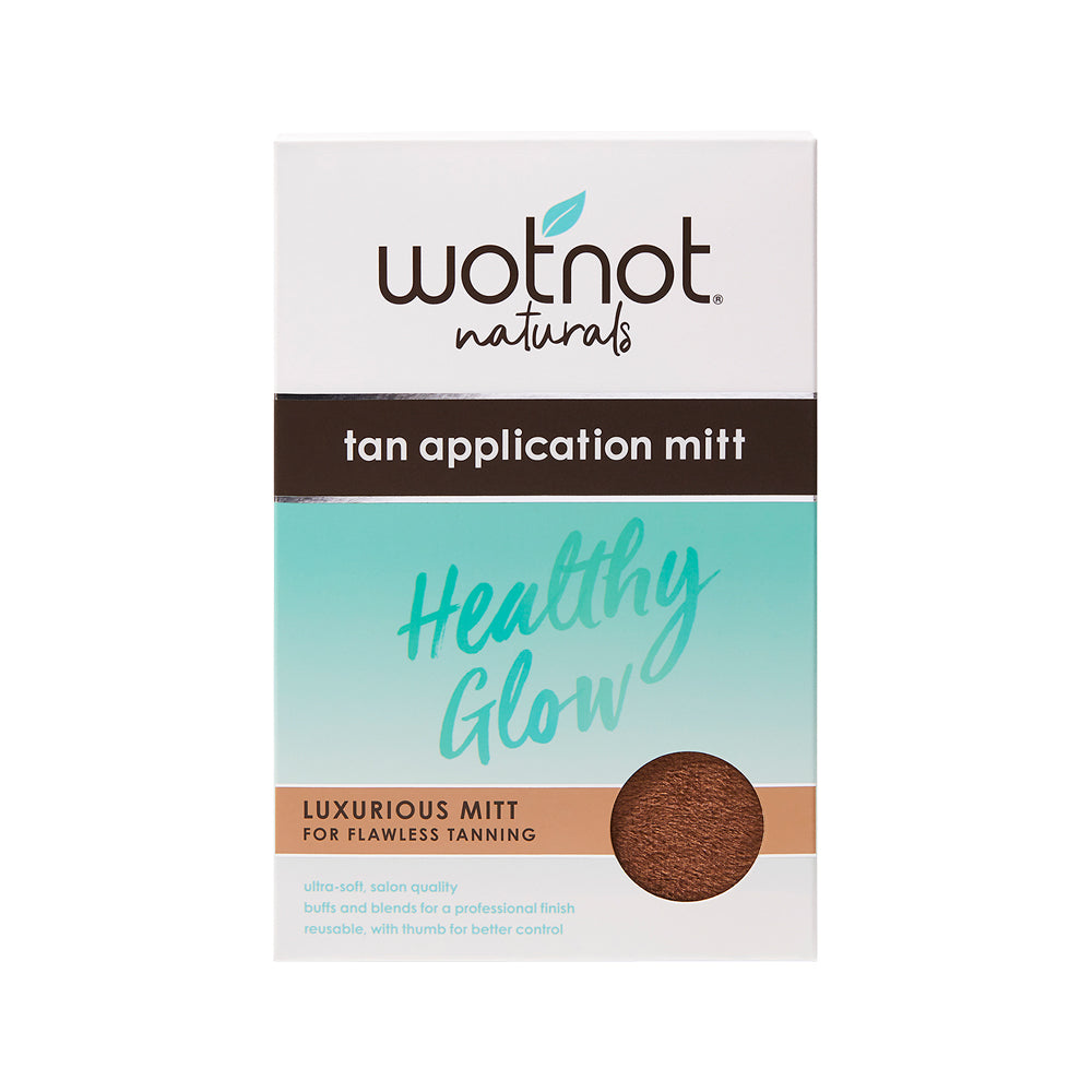 Wotnot Healthy Glow Tan Application Mitt (for flawless tanning)