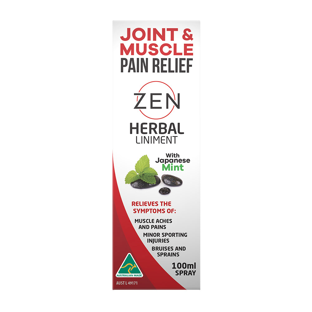 Zen Therapeutics Herbal Liniment (Joint & Muscle Pain Relief) 100ml Spray
