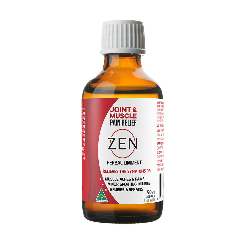 Zen Therapeutics Herbal Liniment (Joint & Muscle Pain Relief) Dropper 50ml