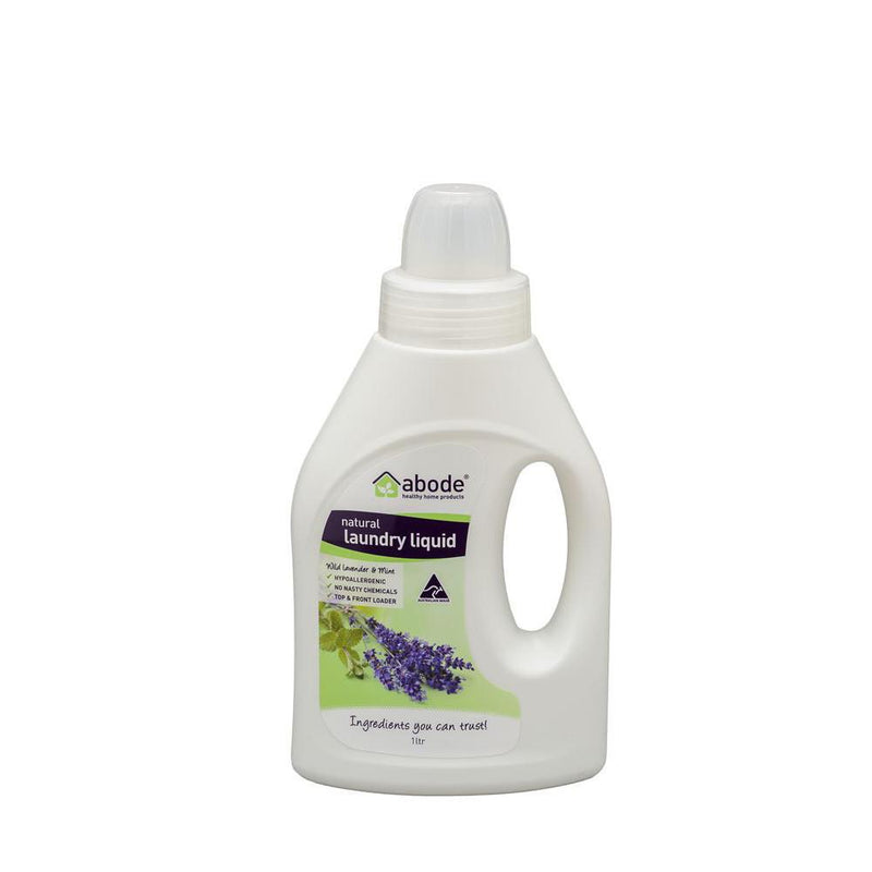 Abode Laundry Liquid Lavender and Mint 1L