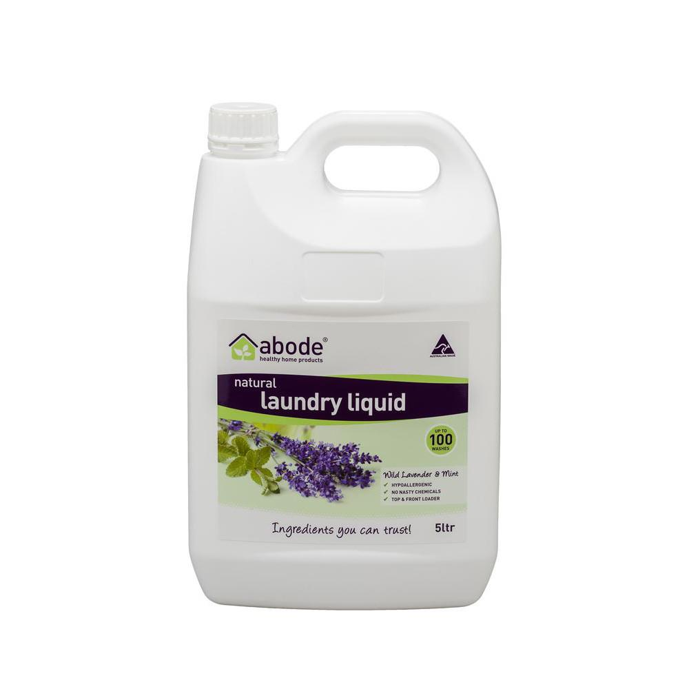 Abode Laundry Liquid Lavender and Mint 5L