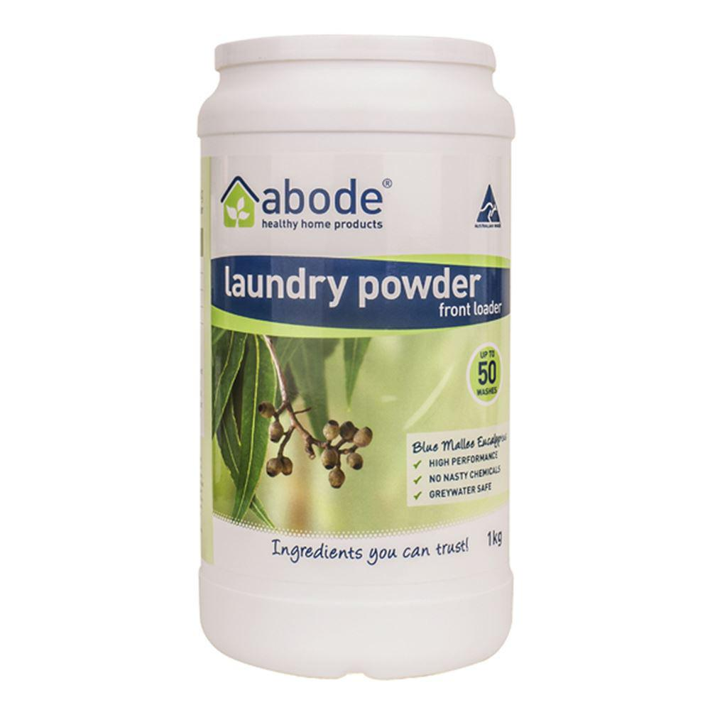 Abode Laundry Powder (Front Loader) Blue Mallee Eucalyptus 1kg