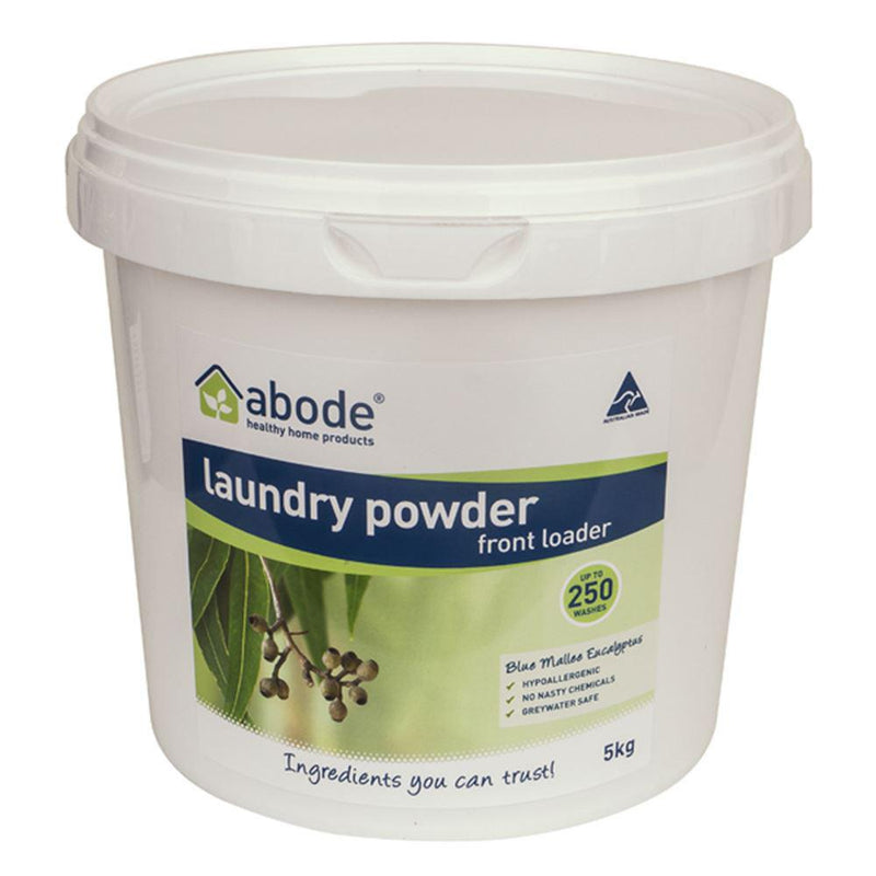 Abode Laundry Powder (Front Loader) Blue Mallee Eucalyptus 5kg