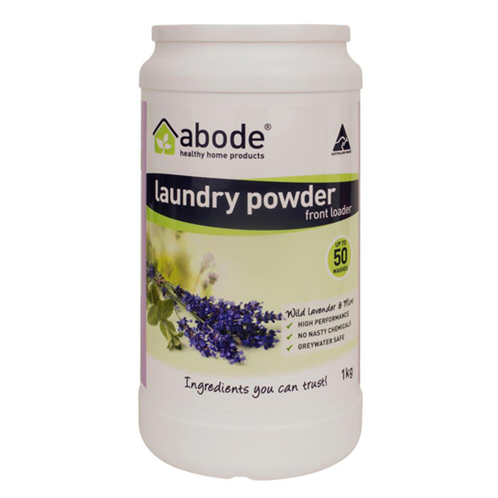Abode Laundry Powder (Front Loader) Wild Lavender & Mint 1kg