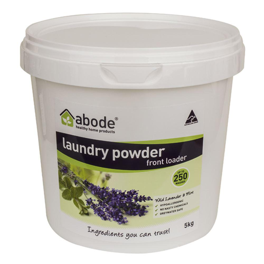 Abode Laundry Powder (Front Loader) Wild Lavender & Mint 5kg