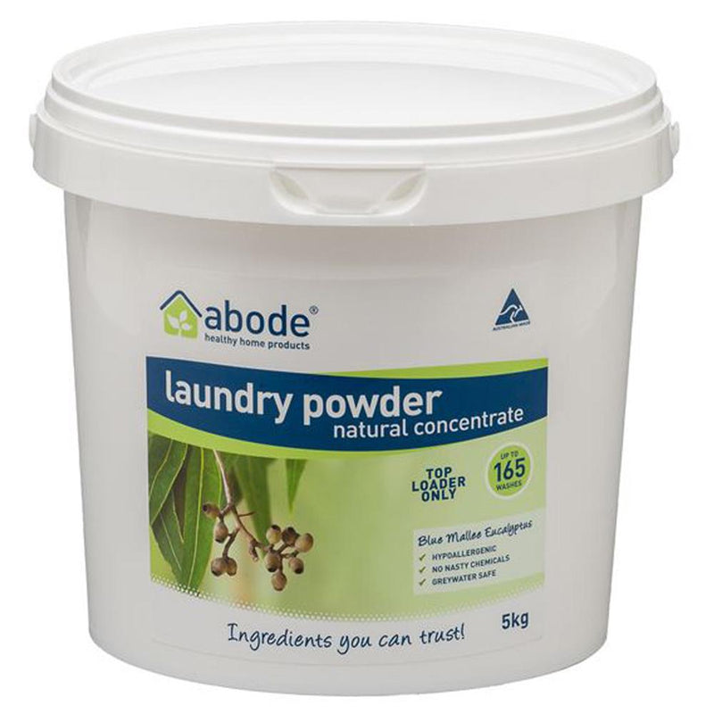 Abode Laundry Powder (Top Loader) Blue Mallee Eucalyptus 5kg
