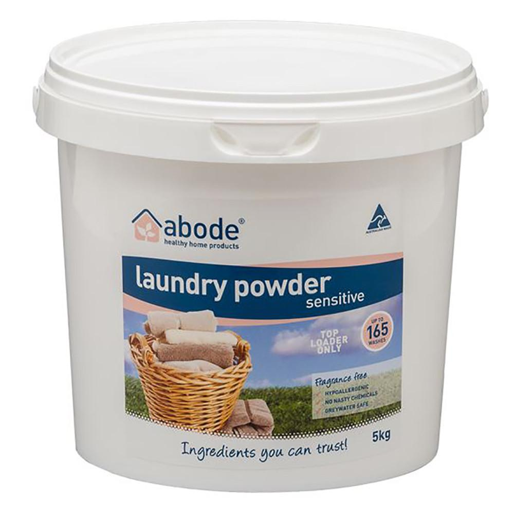 Abode Laundry Powder (Top Loader) Sensitive 5kg Bucket