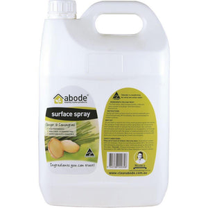 Abode Surface Cleaner Ginger & Lemongrass 5L