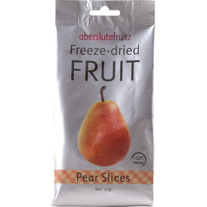 AbsoluteFruitz Freeze-Dried Pear Slices 20g