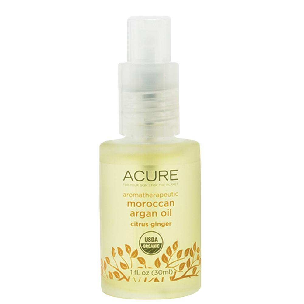 Acure Argan Oil Aromatherapeutic Citrus Ginger 30ml