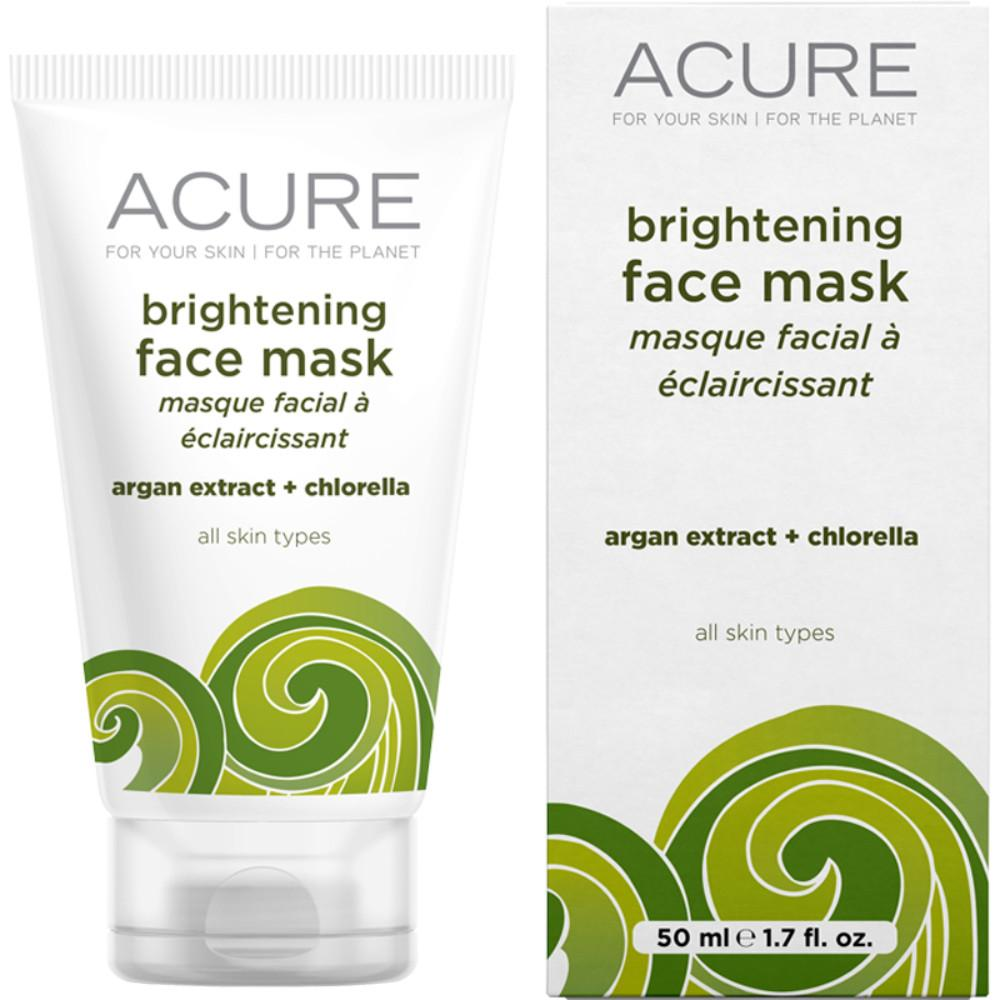 Acure Brightening Face Mask Argan Stem Cell and Chlorella 50ml