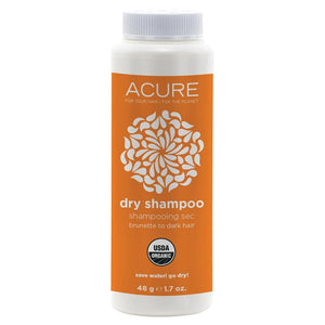 Acure Dry Shampoo For Brunette to Dark Hair 48g