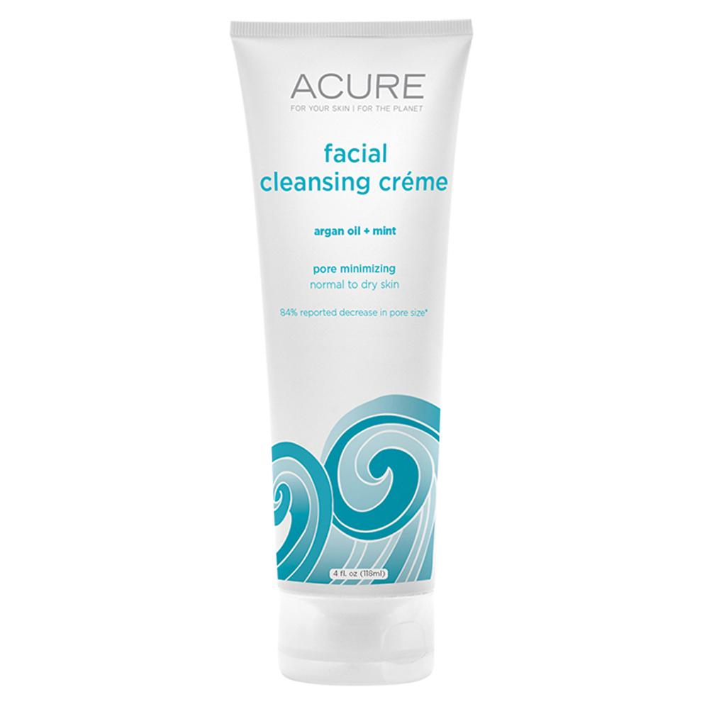 Acure Facial Cleansing Creme Argan Oil and Mint 118ml