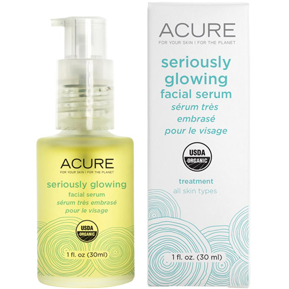 Acure Facial Serum Seriously Glowing 30ml