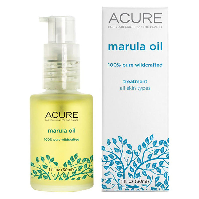 Acure Marula Oil 100% Pure Wildcrafted 30ml
