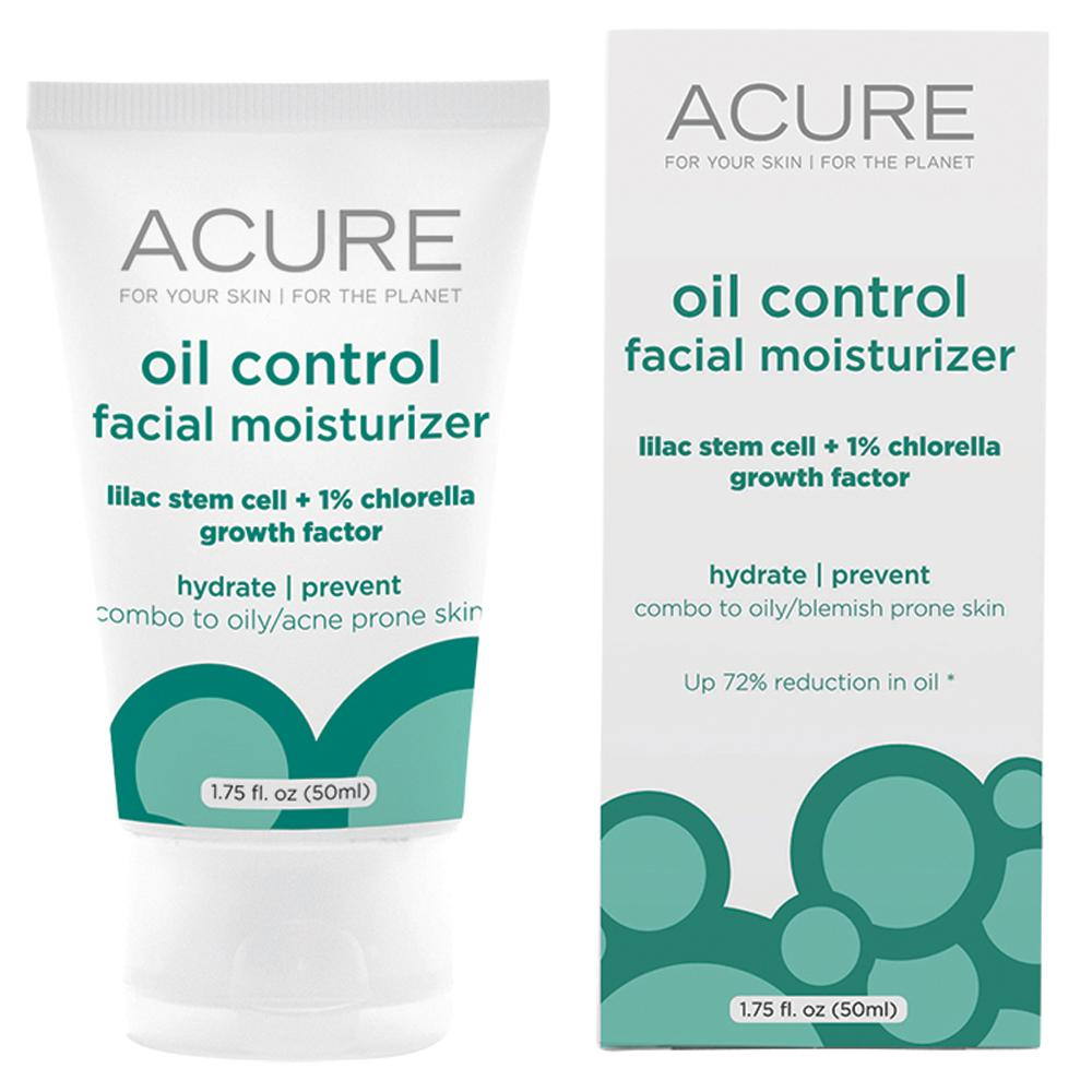 Acure Oil Control Facial Moisturizer Lilac and Chlorella 50ml