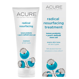 Acure Radical Resurfacing Treatment Lemon Probiotic and Stem Cell 41ml