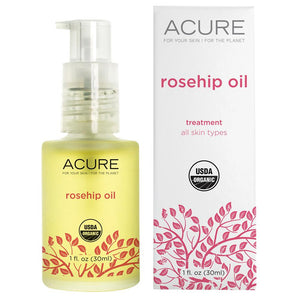 Acure Rosehip Oil 30ml 100% Certified Organic