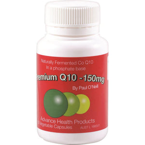 Advanced Health Products Premium Q10 150mg 60c