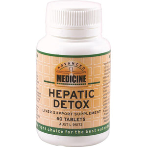 Advanced Medicine Hepatic Detox 60t