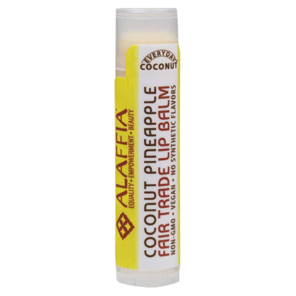 Alaffia Lip Balm Coconut Pineapple 4.25g