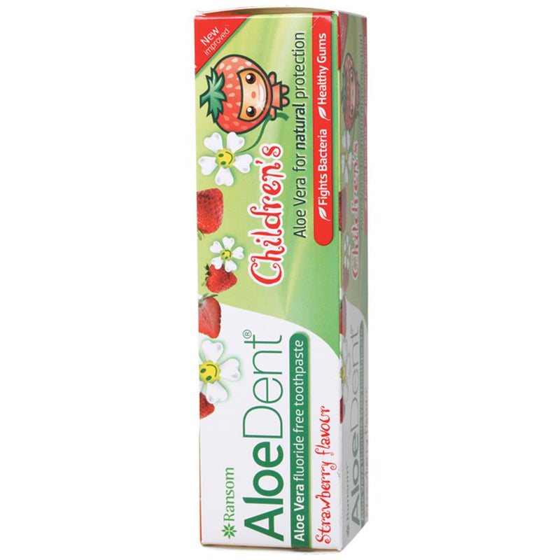 Aloe Dent Toothpaste (Children) 50ml Strawberry