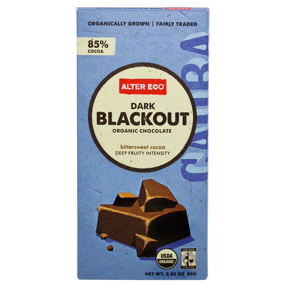 Alter Eco Chocolate (Organic) 80g Dark Blackout