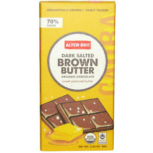 Alter Eco Chocolate (Organic) 80g Dark Brown Butter