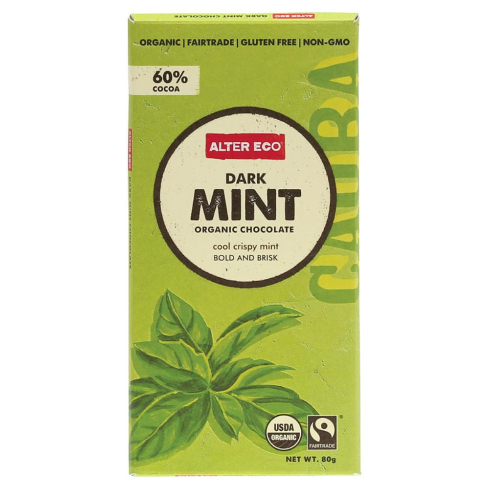 Alter Eco Chocolate (Organic) 80g Dark Mint