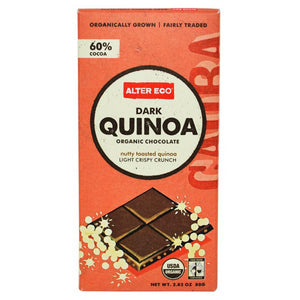 Alter Eco Chocolate (Organic) 80g Dark Quinoa