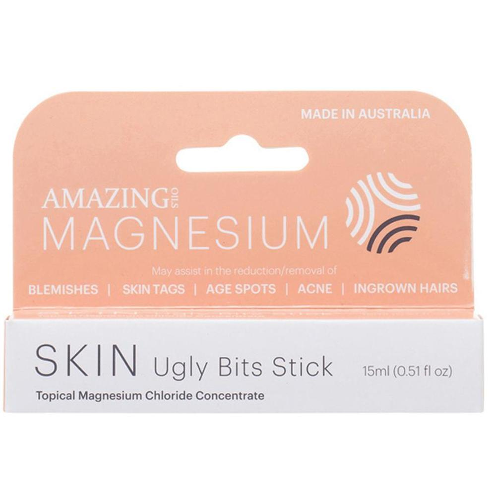 Amazing Oils Ugly Bits Magnesium Stick Roll On 15ml