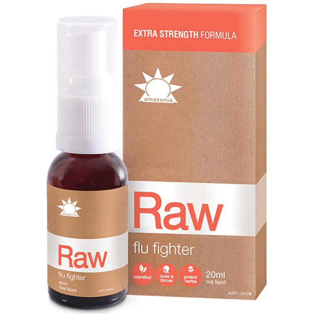 Amazonia Raw Flu Fighter 20ml