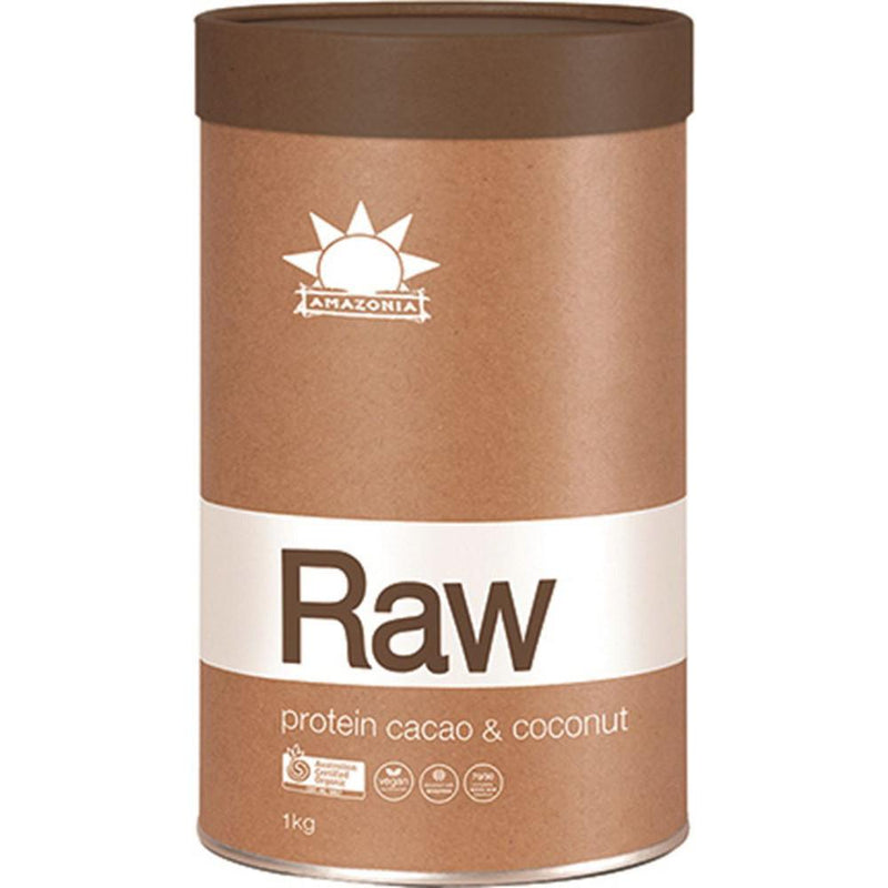 Amazonia Raw Protein Isolate Cacao Coconut 1kg