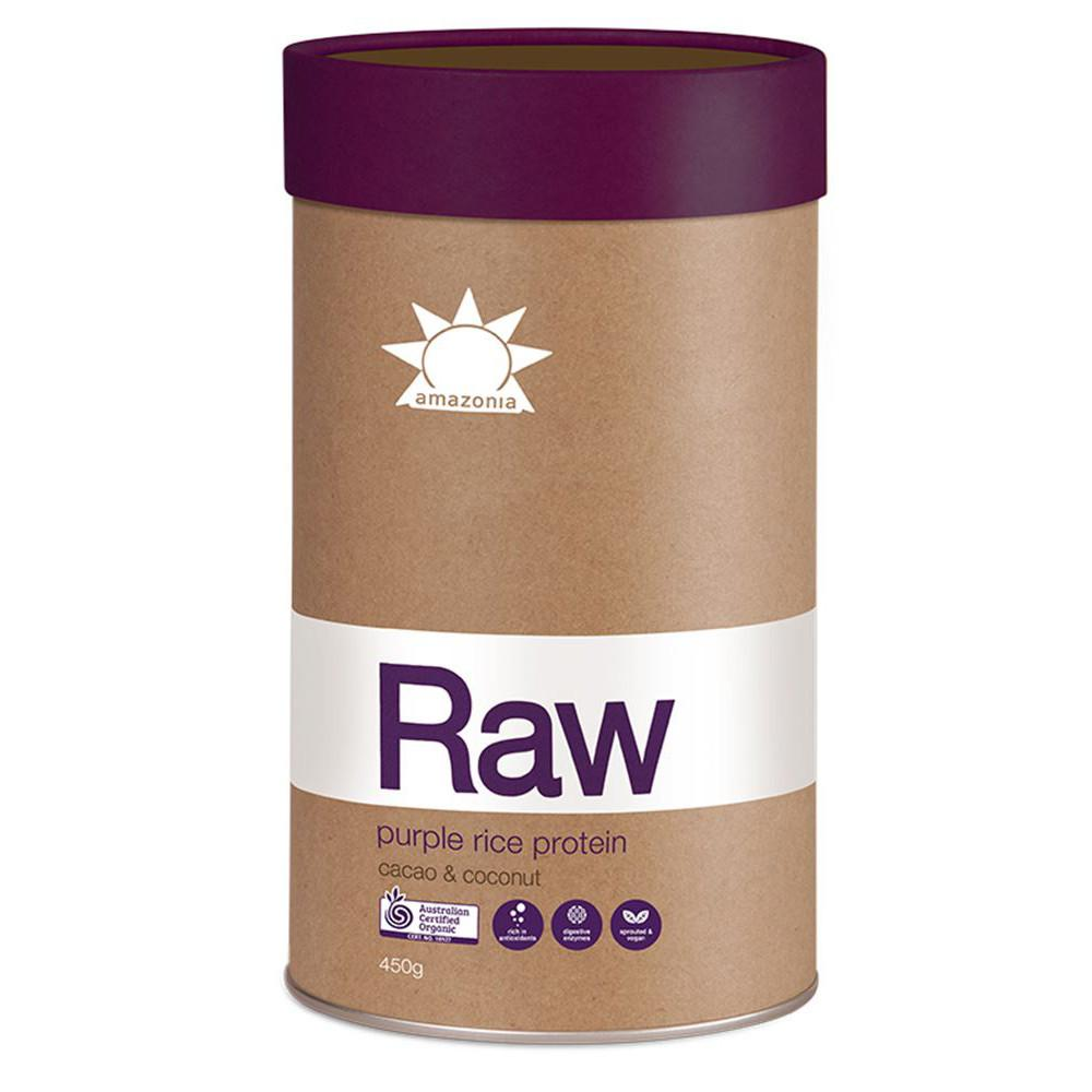 Amazonia Raw Protein Purple Rice Cacao Coconut 450g