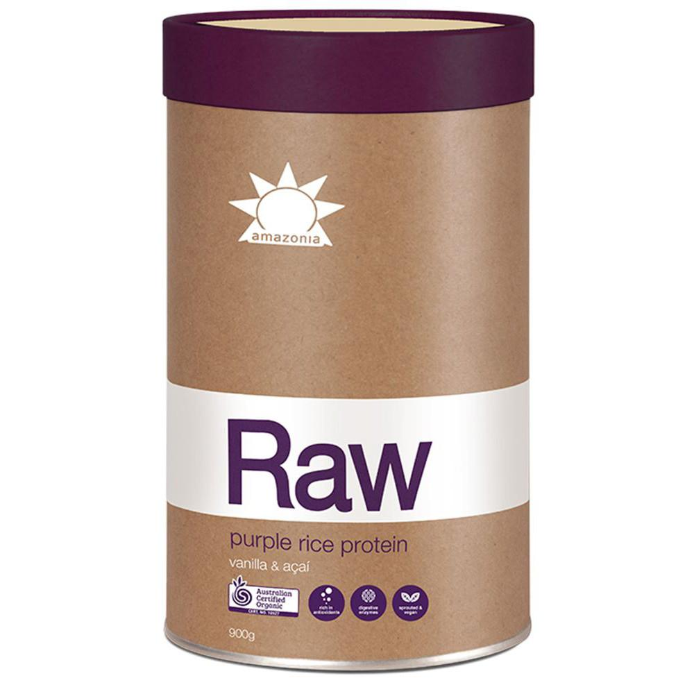 Amazonia Raw Protein Purple Rice Vanilla & Acai 900g