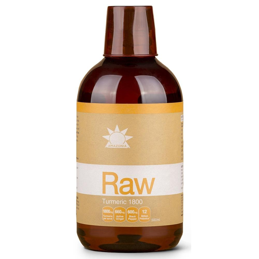 Amazonia Raw Turmeric Liquid 500ml