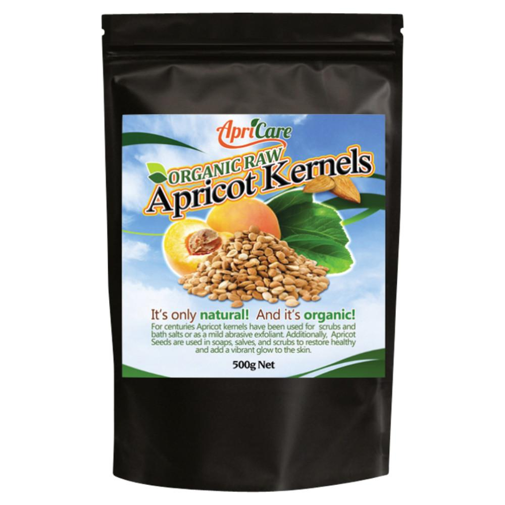 Apricare Organic Raw Apricot Kernels 500g