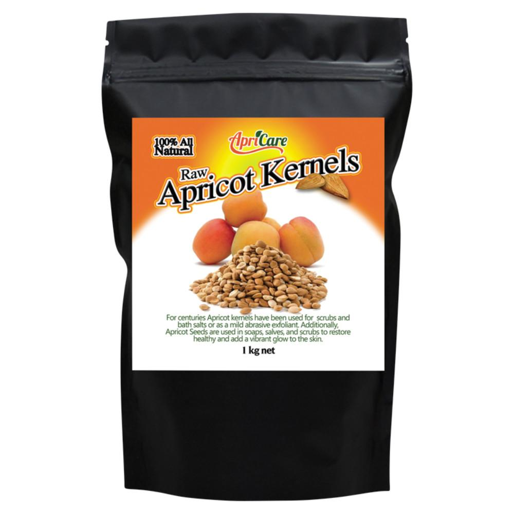Apricare Raw Apricot Kernels 1kg
