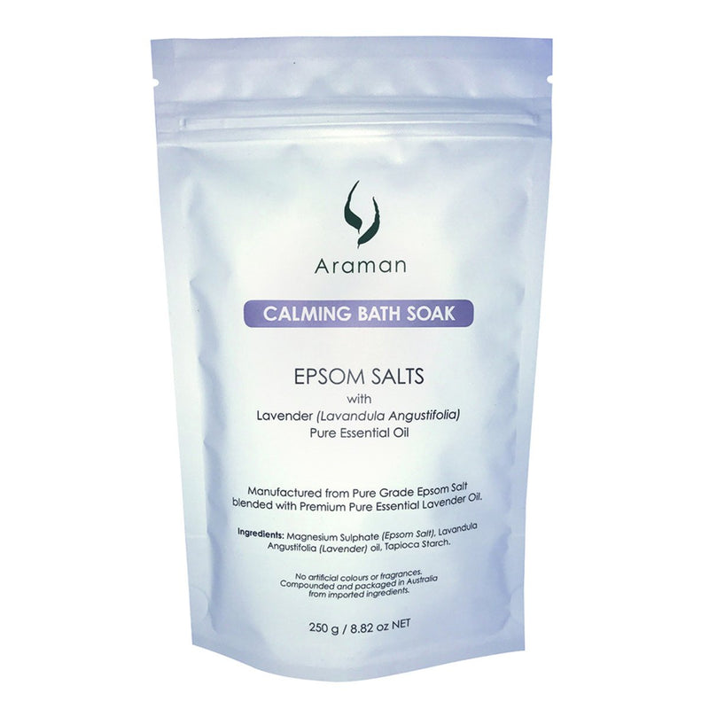 Araman Calming Bath Soak 250g