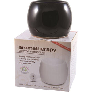 Aromamatic Vapouriser Electric Coral Shape Black