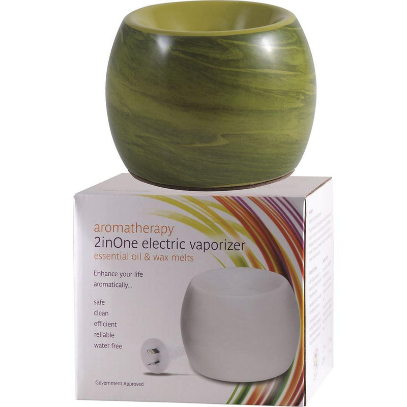 Aromamatic Vapouriser Electric Coral Shape Seagrass Swirl