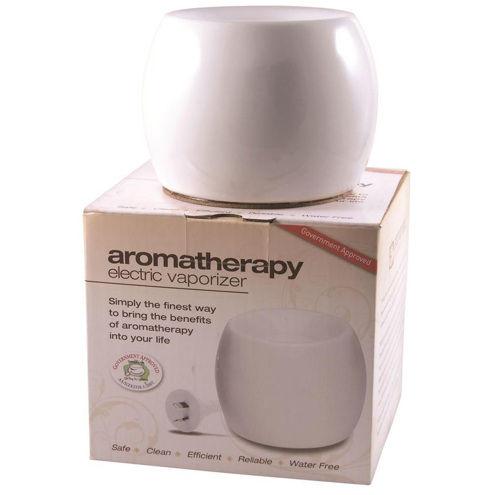 Aromamatic Vapouriser Electric Coral Shape White