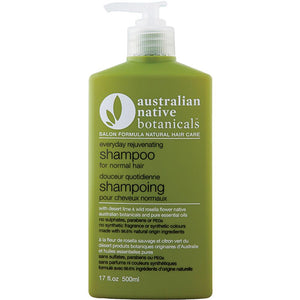 Aust. Native Botanicals Shampoo Rejuvenating 500ml Normal Hair