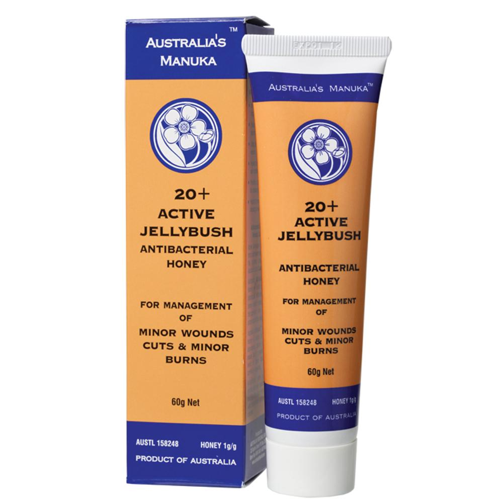 Australia's Manuka Wound Care 60g Active Jellybush - ULF 20+
