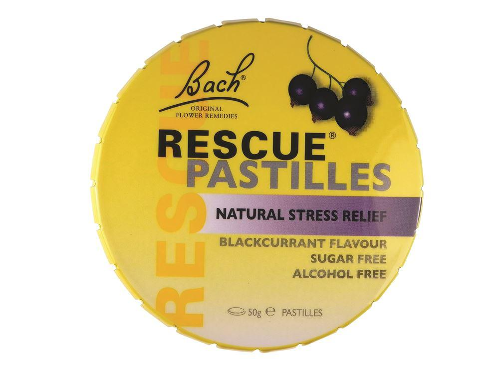Bach Flower Remedies Rescue Pastilles Blackcurrant 50g